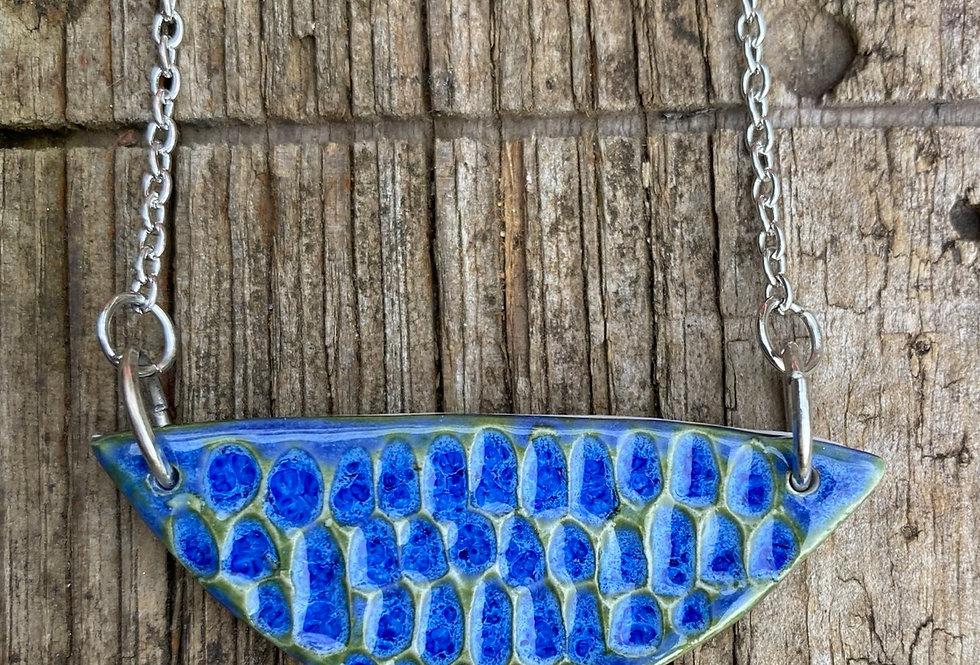 Blue Surf necklace