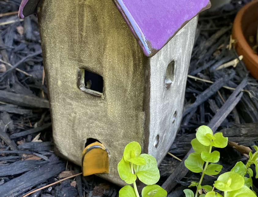 Dutch Mininalist Fairy House/Luminary