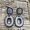 "Thumbnail: Mountain Frost ""Big O"" Earrings"