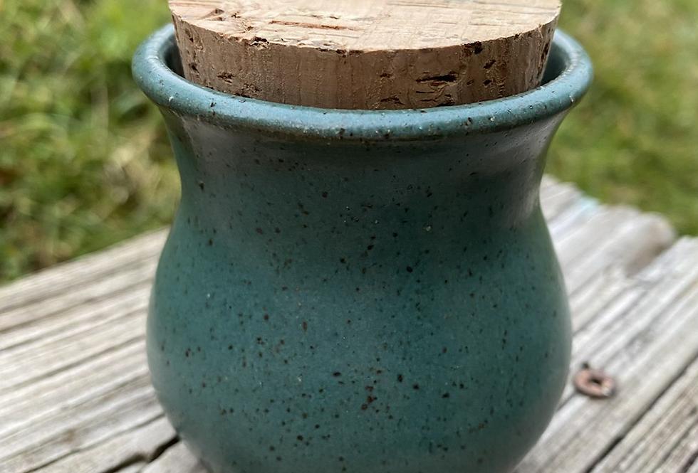 Turquoise Stash Jar