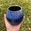 Thumbnail: Sapphire and white Bud Vase
