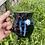 Thumbnail: Cauldron mug with blue drips