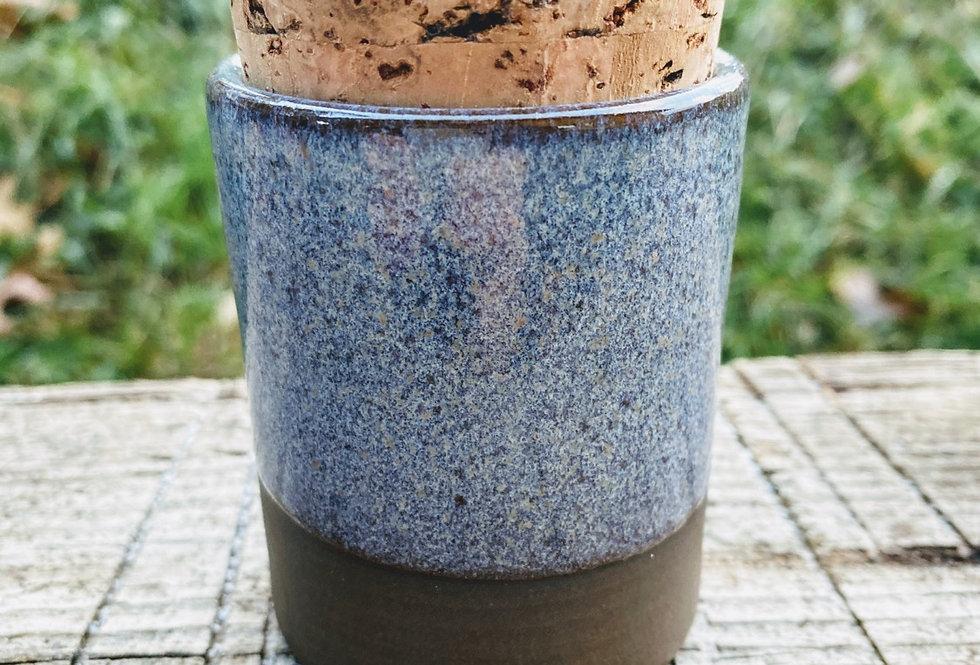 Ice Blue stash jar #1
