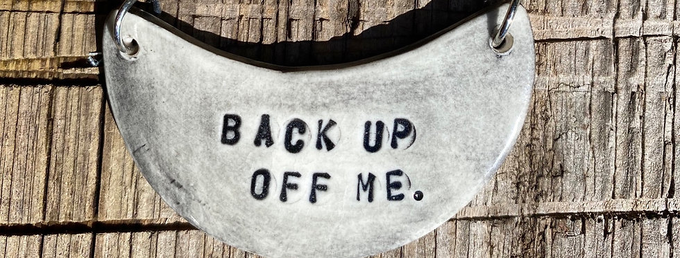 Back Up Necklace