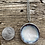 Thumbnail: Large Mountain Frost Cupped Necklace
