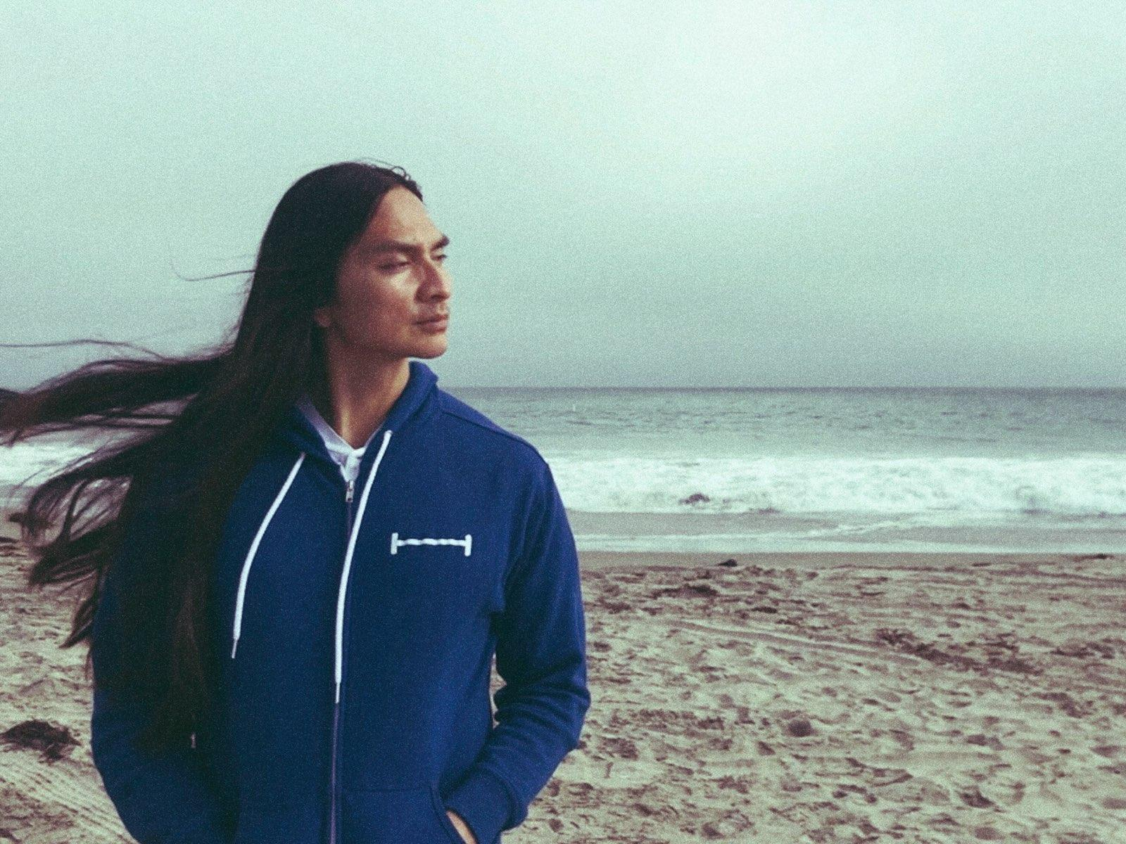 Hoodie for windy beach days