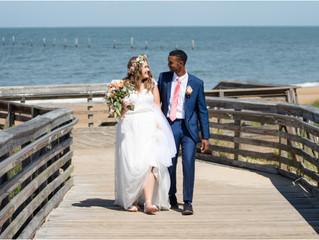 Mr. & Mrs. Boystel - A Beach Wedding
