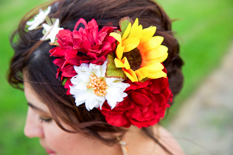 sylvia wedding hair