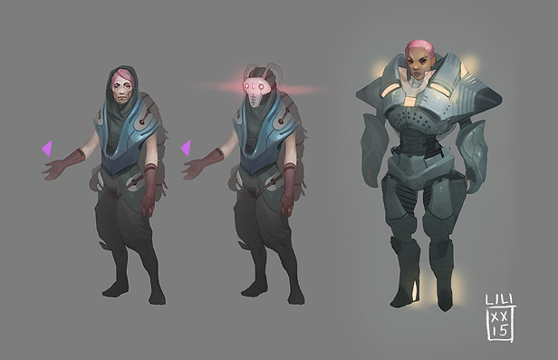 Character concept art