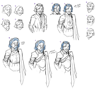 Wargroove: character concept art