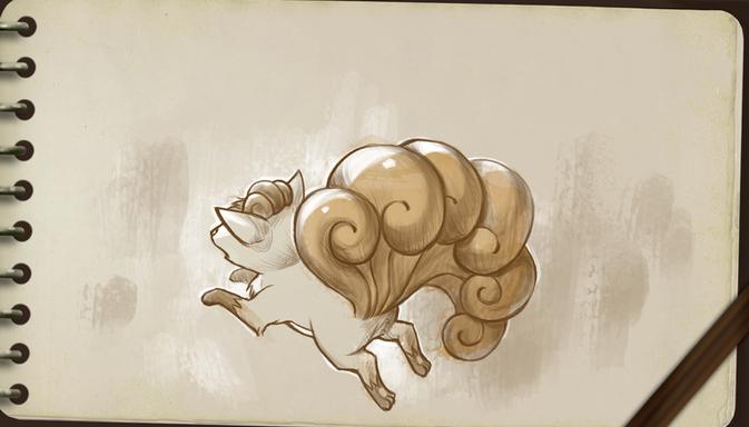 Pokémon Art Academy: illustration