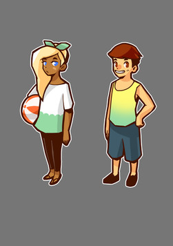 Disney  Art Academy: character concept art