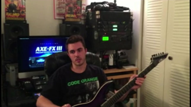 Guitar player Nick W. talks about his lessons at the Milwaukee Music Academy.
