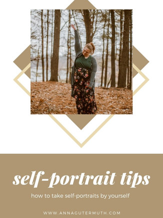 How To Take Self-Portraits | Wisconsin Portrait Photography | Tips & Tricks