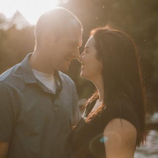 Brainard's Bridge | Waupaca, WI | Lifestyle Engagement Photography | Jenna + Adam