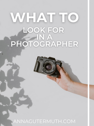 What To Look For When Choosing A Professional Photographer | Wisconsin Lifestyle Photography