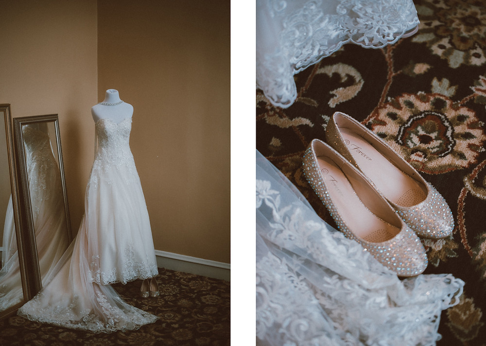 Romantic Wedding at the Astor Hotel in downtown Milwaukee, WI.