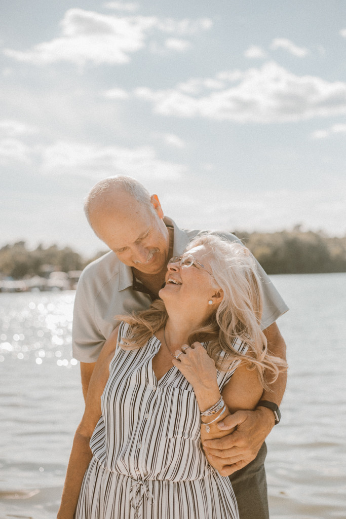 Couple celebrating their 50th anniversary. Lifestyle Photography by Anna Gutermuth.