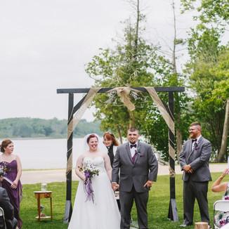 Bear Lake Resort | Manawa, WI | Tyler and Elizabeth | 06-09-18 | Wedding Photography