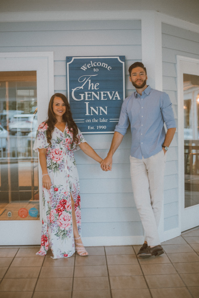 Lifestyle couples photography at The Geneva Inn, on Lake Geneva, WI by Anna Gutermuth.