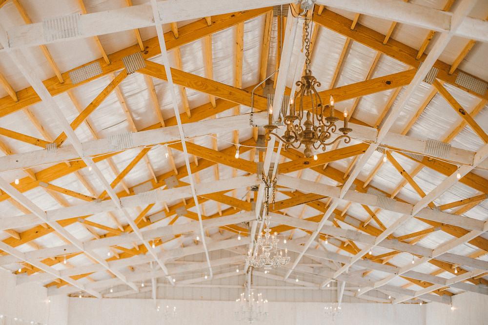Rustic wedding venue feature on the Old Coon Creek Inn in Beloit, Wisconsin.