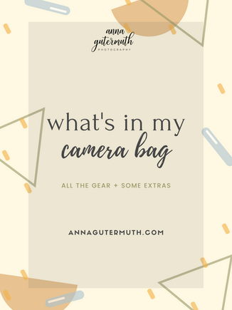 What's in My Camera Bag | Wisconsin Wedding Photography