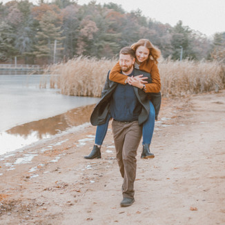 South Park | Waupaca, WI | Lifestyle Engagement Photography | Rebecca & Michael