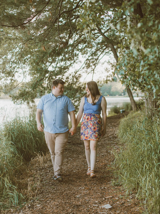 South Park | Waupaca, WI | Lifestyle Engagement Photography | Lizzy + Cody