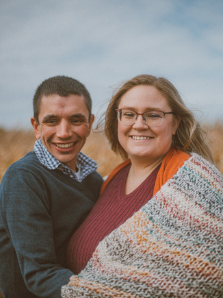 Squire's Pumpkin Patch | Burlington, WI | Lifestyle Couples Photography | Chad + Kara