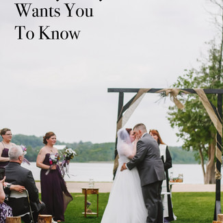 3 Things Your Wedding Photographer Wants You To Know   Wisconsin Wedding Photography