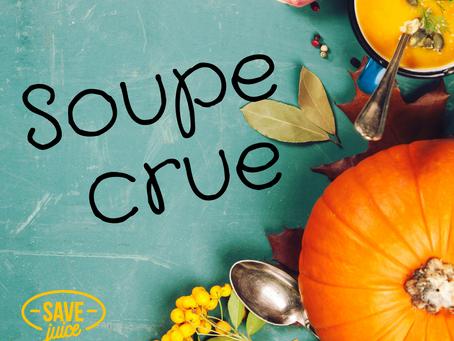 Soupe crue orange au super Blender Blendtec