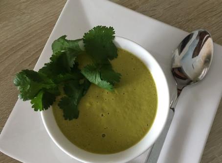 Soupe Thaïlandaise au gingembre et aux noix de cajou au BLENDTEC