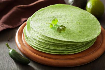 Recette de tortillas aux épinards au deshydrateur