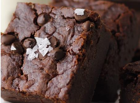 """Brownie au chocolat et au """"chou fleur""""🤪😉"""