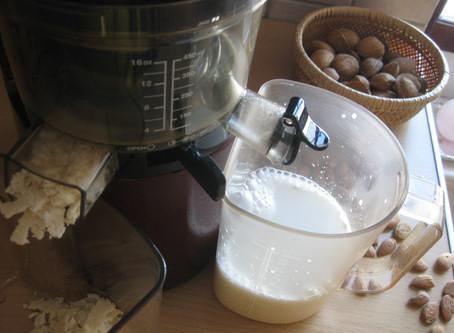 Du lait d'amande maison?