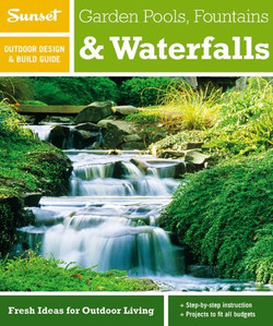 Sunset_Garden Pools_Fountains_Waterfalls