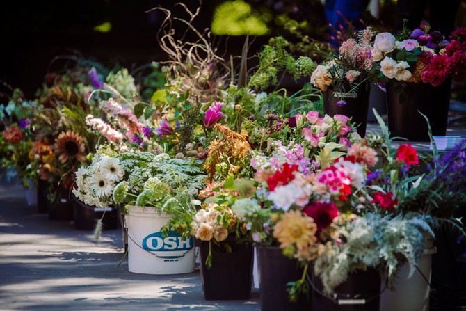Filoli in Bloom at the Slow Flowers Summit