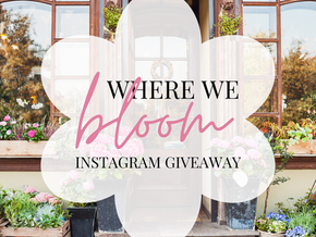 Where We Bloom: Creative Spaces Instagram Contest