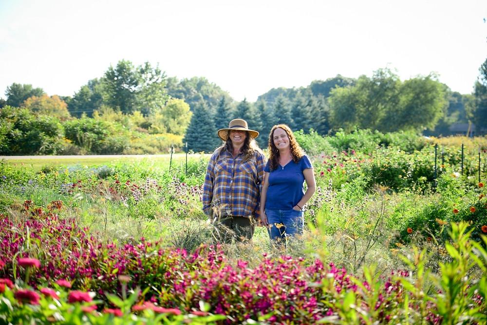 Jolea Gress and Jenny Hotz, Green Earth Growers