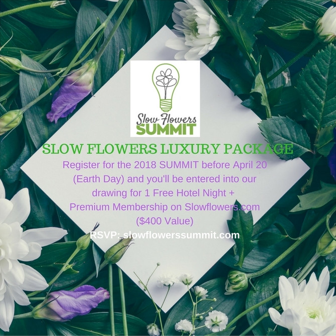 Enter to Win: Slow Flowers Luxury Package