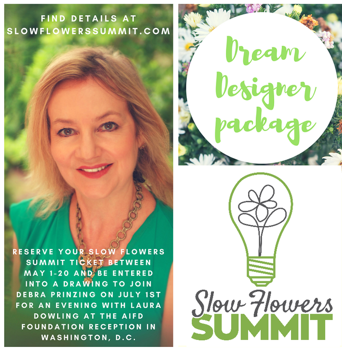 Dream Designer Package Ticket Promo: Win an evening with Laura Dowling