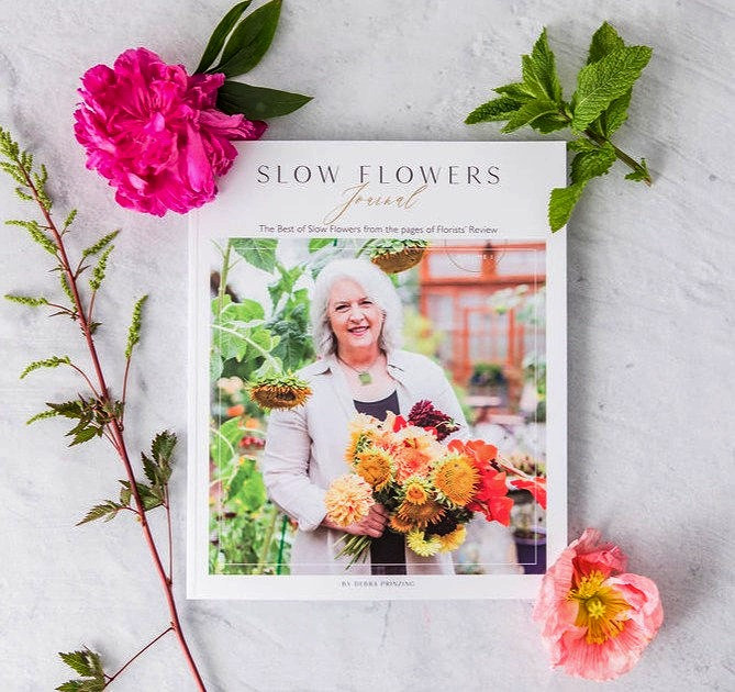 Slow Flowers Journal Cover