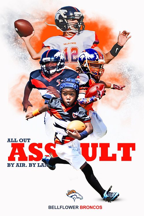Broncos All Out Assault Background