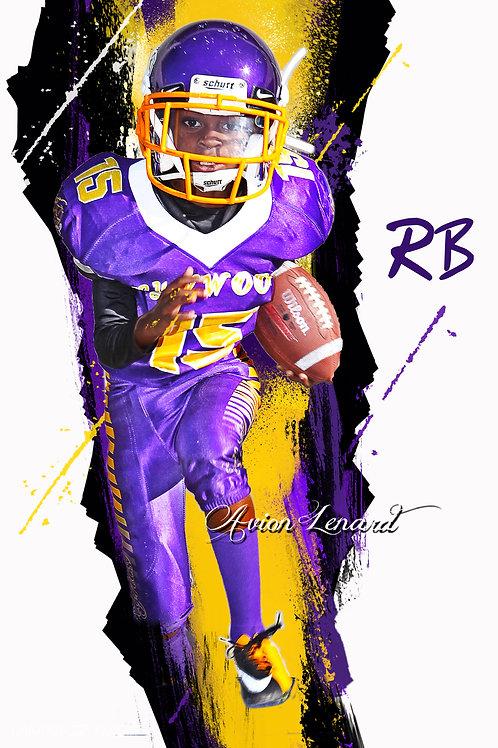 Purple Rush background