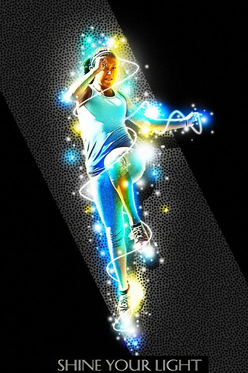 Starchild background and illustration