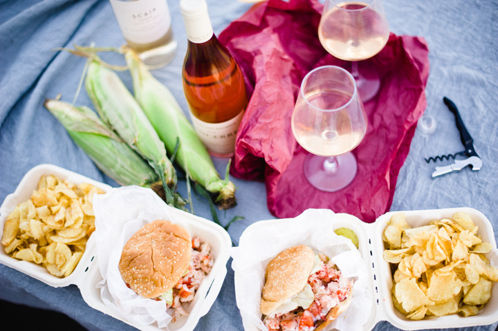 lobster rolls on the back and forth