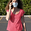 Thumbnail: Flower Swirls Face Mask
