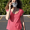 Thumbnail: Black and White Grunge Paint Fabric Face Mask
