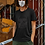 Thumbnail: Light Acid Wash Pattern Fabric Face Mask
