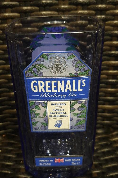 Greenall's gin glass